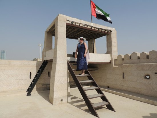 Ras Al Khaimah, Uni Emirat Arab: The lookout tower