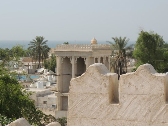 Ras Al Khaimah National Museum: View from the lookout tower