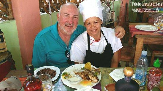 Juana la Cubana : Excellent chef