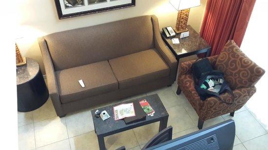 Saratoga Resort Villas : Living comedor al lado de la cocina