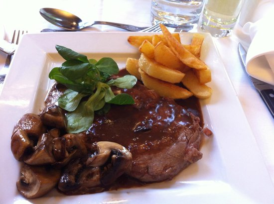 The Old Hall Hotel Restaurant: Steak