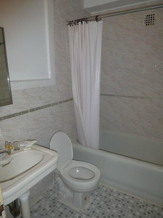 Hotel Carter : bagno