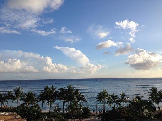 Aston Waikiki Beach Tower: From The Balcony