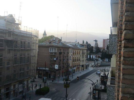 Hotel Las Almenas: Desde la habitación