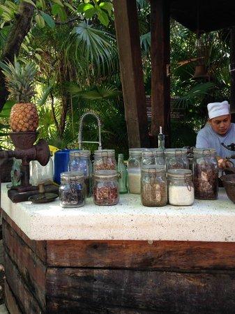 Casa Banana: Open kitchen