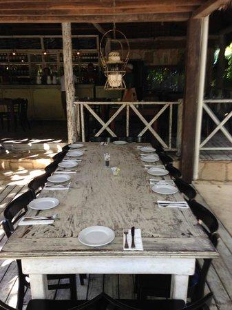 Casa Banana: Lovely set up