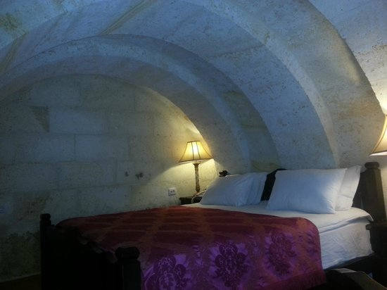 Perimasali Cave Hotel - Cappadocia : Our Cave type room.. a lovely experience ...!!
