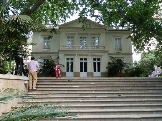 La Concepcion Jardin Botanico Historico de Malaga: La residencia