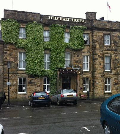 The Old Hall Hotel: Hotel front