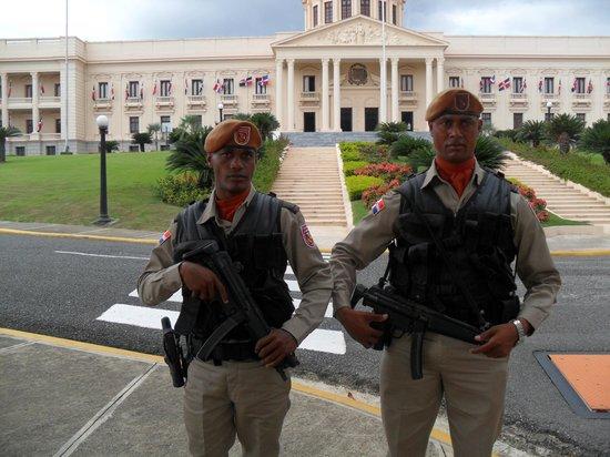 Santo Domingo City Tour: National Palace (equivalent to White House)
