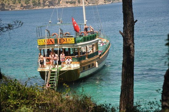 YOUR HAPPINESS COMES FIRST - Picture of Mega Diana Boat Trip-Tours, Marmaris ...
