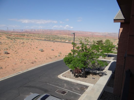 Days Inn & Suites Page Lake Powell : View from my room