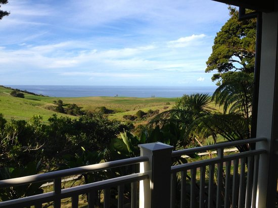 The Lodge at Kauri Cliffs: The view from our suite.