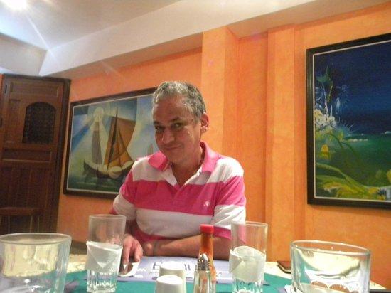 Hotel Colonial: Cenando en el Hotel