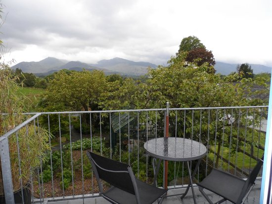 The Lookout Keswick: View of Grisedale Pike from Room 3