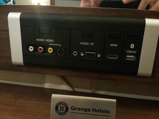 Grange Tower Bridge Hotel: Tomas de vídeo y sonido