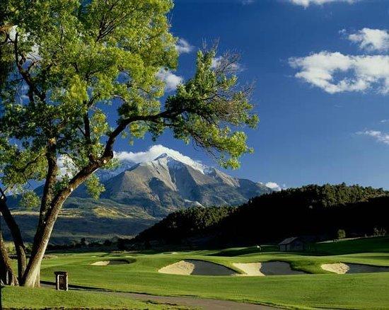 River Valley Ranch Golf Course: Mount Sopris