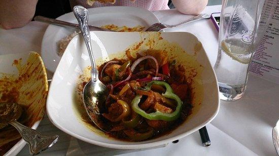 Raja of Cheadle Indian Restaurant & Take Away: Chicken Jalfrezi