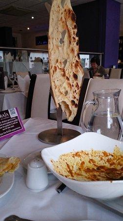 Raja of Cheadle Indian Restaurant & Take Away: Hanging Nan of Babylon