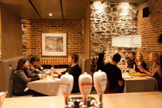 Le Pain Beni : A part of the restaurant