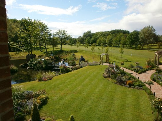 Laceby Manor Golf Club Restaurant and Bar: View from Restaurant