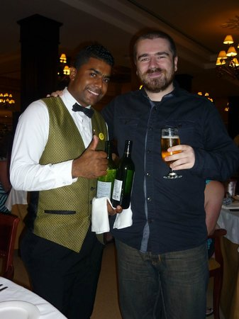 Luxury Bahia Principe Ambar Blue Don Pablo Collection: Christian the world friendliest and best waiter