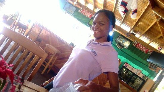 Seastar Inn: This is Nicky, a beautiful staff member