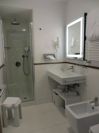 Hotel Plaza: Modern bathroom