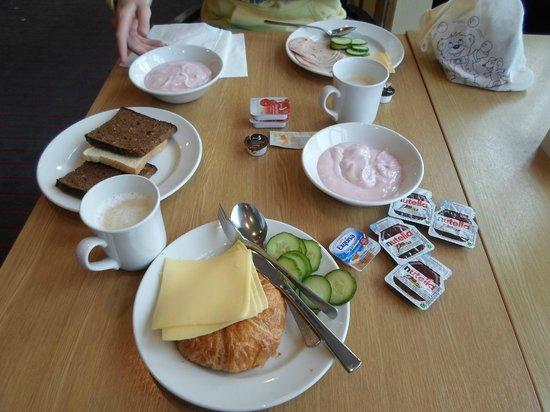 Holiday Inn Frankfurt-Airport North: Завтрак