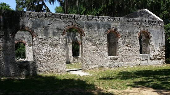 Saint Helena Island, Güney Carolina: Old Ruins