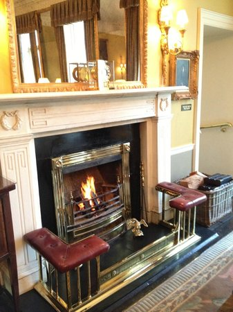 The Merrion Hotel: drawing room