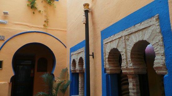 Hosteria Lineros 38 : Patio bleu