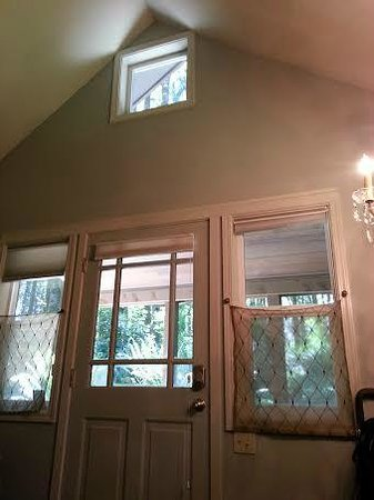 WildSpring Guest Habitat: living room windows