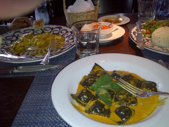 Los bachiche: Mis ravioli y los tortellini de mi colega