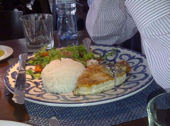 Los bachiche: Un pescado señorial.