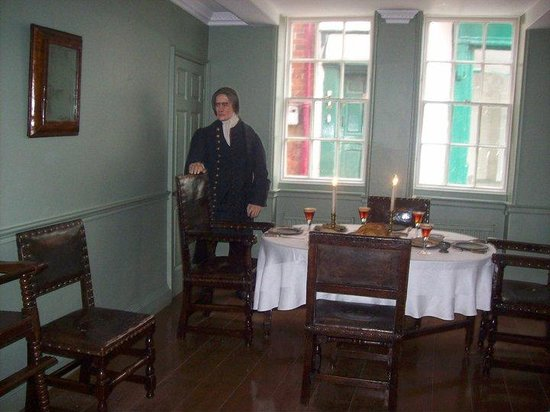 Captain Cook Memorial Museum Whitby : Dining Room