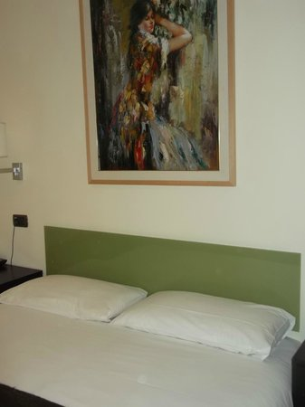 Holiday a San Pietro : panoramica del letto