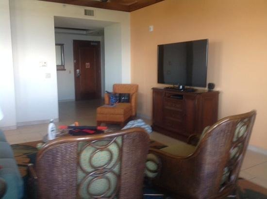 Marriott's Maui Ocean Club  - Lahaina & Napili Towers : living room