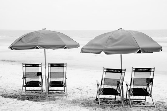 Hilton Head Marriott Resort & Spa: Beach front with our rented chairs