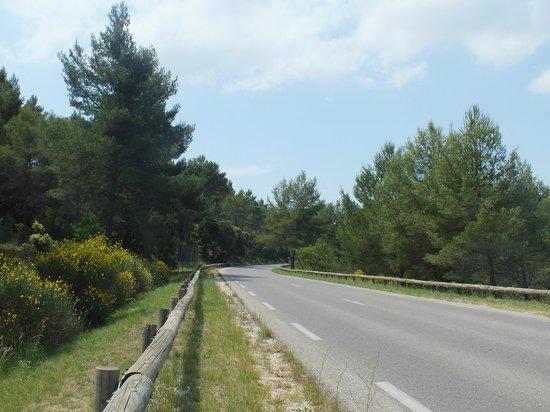 Montagne Sainte Victoire: Estrada Montagne Saint Victoire