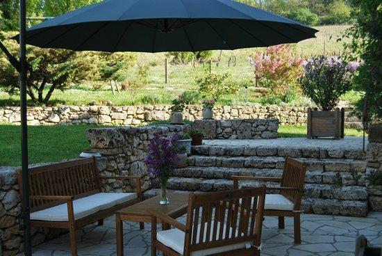 La Romantique: Terrasse