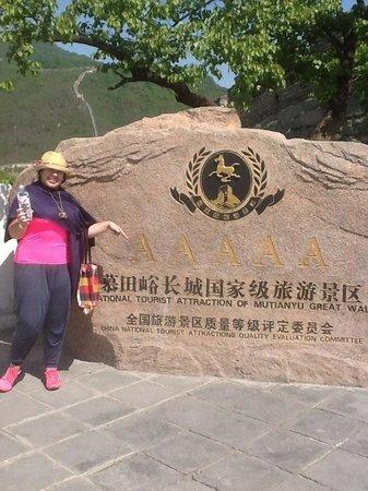 Beijing Impression Tours : increible y maravillosa construccion..jamas la olvidaremos