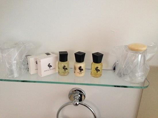The Castle Hotel: gibson suite toiletries
