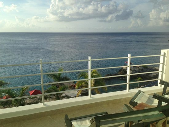 Hotel B Cozumel : View from room 401 (suite)