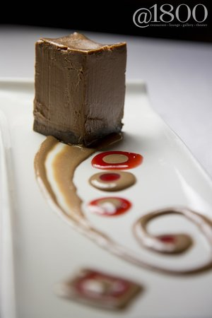 @1800: Chocolate Cherry Cheesecake