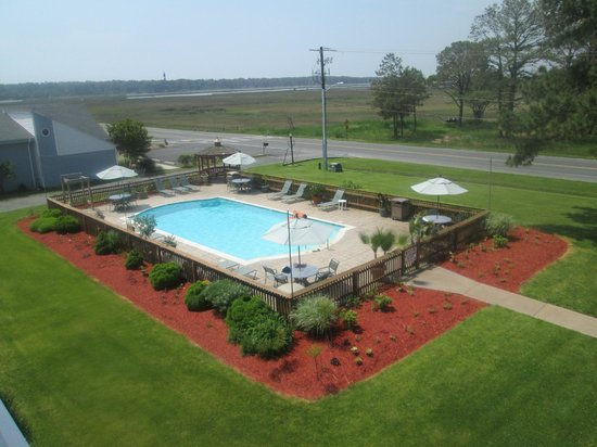 Best Western Chincoteague Island: View from our room balcony