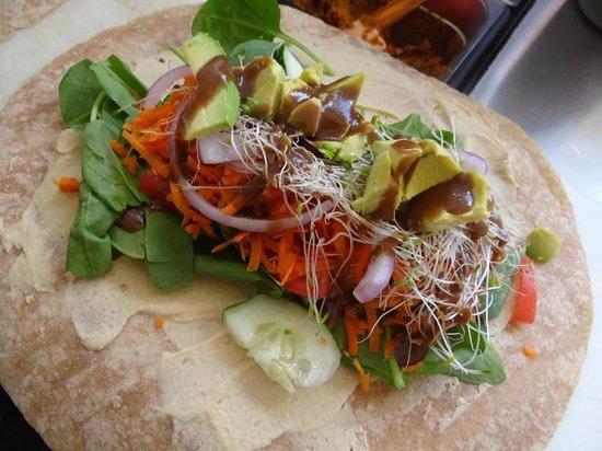 The Smoothie Shack: Delicious chicken avocado wrap