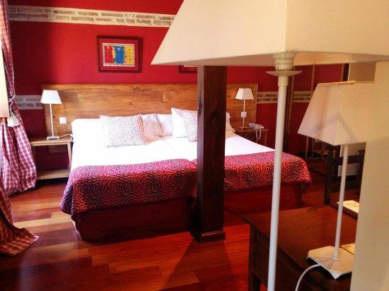 Hotel Real Monasterio de San Zoilo: Amplia y con detalles. Muy confortable y silenciosa