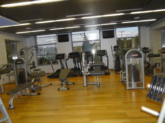 SENTIDO Port Royal Villas & Spa: the gym you have to pay for