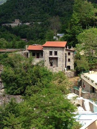Grand Hotel Pigna Antiche Terme : dalla terrazza